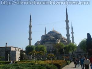 Mesquita Azul, em Istambul