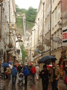 rua Rua em Salzbrug, Austria
