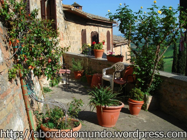 San Gemniano, na Toscana