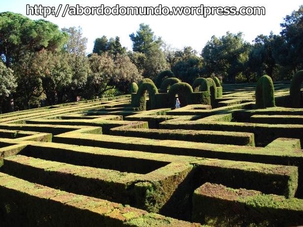 O labirinto de Horta, um dos meus lugares preferidos em Barcelona