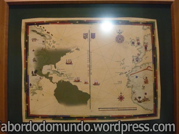 Mapa explica o tratado