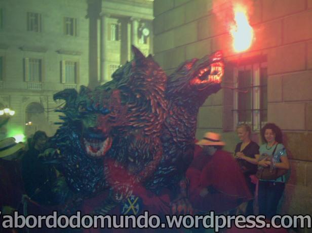 Correfoc na festa de La Mercè 2006- Barcelona