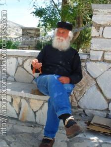 Amigo grego em Naxos