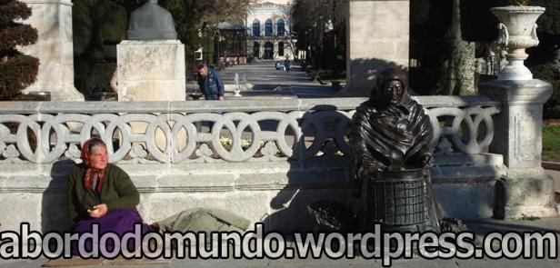 Flagrante em Burgos, Espanha: quem inspirou quem?