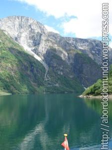 Fiordo na Noruega