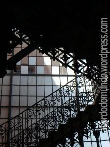 Escadaria linda no centro cultural Cabildo