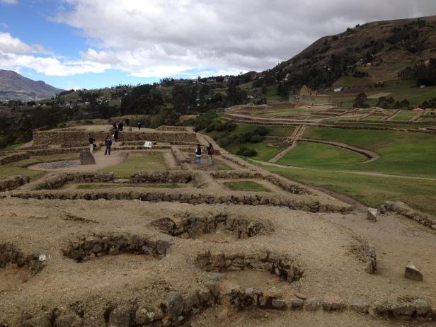 Panorama de Ingapirca