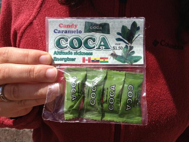 O kit com balinhas de coca direto do Equador!