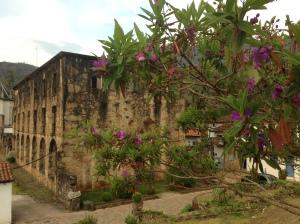 Essa biblioteca do santuário pegou fogo e hoje as ruínas abrigam um museu. Lindo! Caraça,  Minas Gerais
