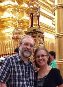 Gordon e Teca na Tailândia.
