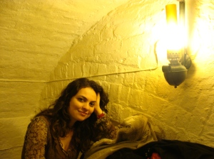 Dentro do Ye Olde Cheshire Cheese