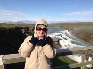 É verão na Islândia! E eu não estava sentindo nem um pouquinho de frio no dia mais quente do ano...