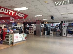eletrodomésticos no aeroporto em Sri Lanka