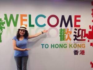 welcome to hong kong