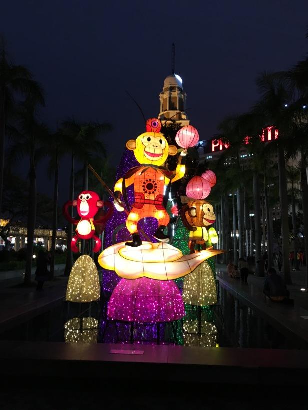 Lanternas do Ano do Macaco