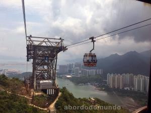 Esse passeio de teleférico ao Grande Buda é considerado um dos 10 mais bonitos do mundo